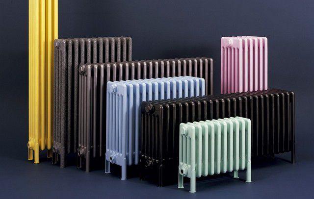 Разнообразие размеров и форм чугунных радиаторов – от небольших до высоких и выраженно вертикальных