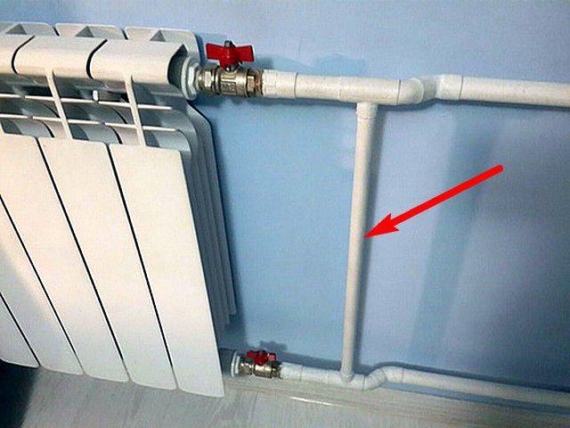 Байпас – это всего лишь труба-перемычка, создающая возможность альтернативного направления перемещения жидкости