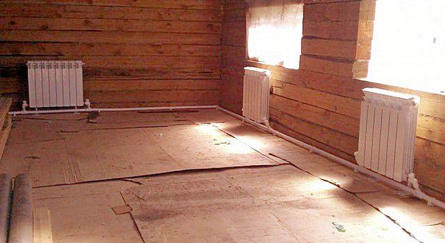 Система «ленинградка»: несмотря на то что система однотрубная, каждый радиатор отопления – совершенно автономен