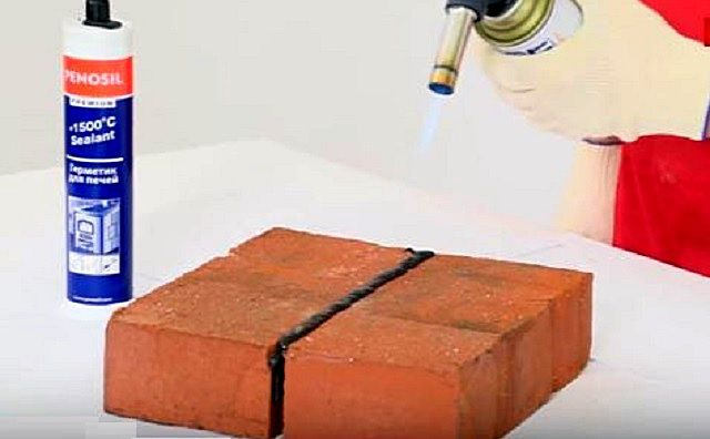 После оговоренного инструкций отвердевания состава, его рекомендуется обжечь пламенем газовой горелки