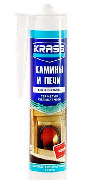 Туба жаростойкого герметика «Krass камины и печи»