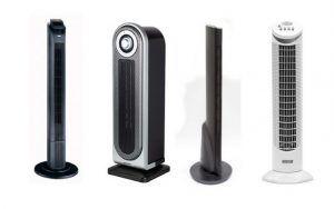 Напольные керамические тепловентиляторы колонного типа