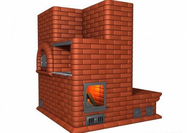 «Предтеча» всех керамических обогревателей – обычная кирпичная печка