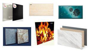 Это только несколько примеров разнообразия внешнего оформления керамических инфракрасных панелей