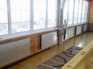 В зависимости от площади и других особенностей помещения может потребоваться установка нескольких инфракрасных обогревателей.