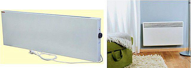 Выходные решётки конвектора могут быть только по верхнему торцу прибора, либо располагаться на лицевой панели и направлять поток нагретого воздуха в сторону помещения