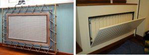 Разнообразные экраны или декоративные короба для радиаторов – все это, наверное, очень красиво, но эффективность отопления – резко снижается