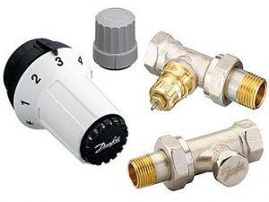 Термостатический комплект для радиатора отопления.