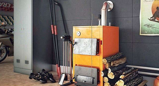Пиролизные котлы длительного горения с водяным контуром