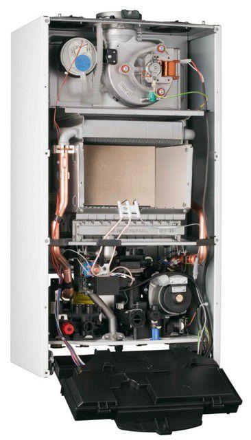 Газовый двухконтурный котел с закрытой камерой сгорания