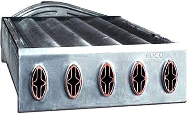 Пример внутреннего строения битермального теплообменника