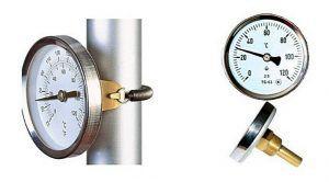 Термометры необходимы для точной отладки системы и для контроля за ее работой в ходе повседневной эксплуатации