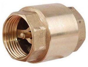 Обычный обратный клапан бывает нелишним и в смесительном узле