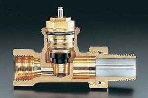 Клапан в разрезе – хорошо заметно внешнее сходство с обычным сантехническим вентилем