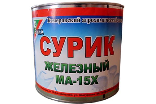 Все металлические детали, расположенные на фасаде, рекомендуется после очистки обработать железным суриком.