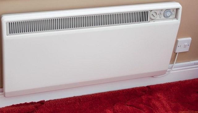 Удобство конвекторов заключается в том, что их можно установить не только на стене, выходящей на улицу, но и в любом месте комнаты. Достаточно протянуть электрический кабель.