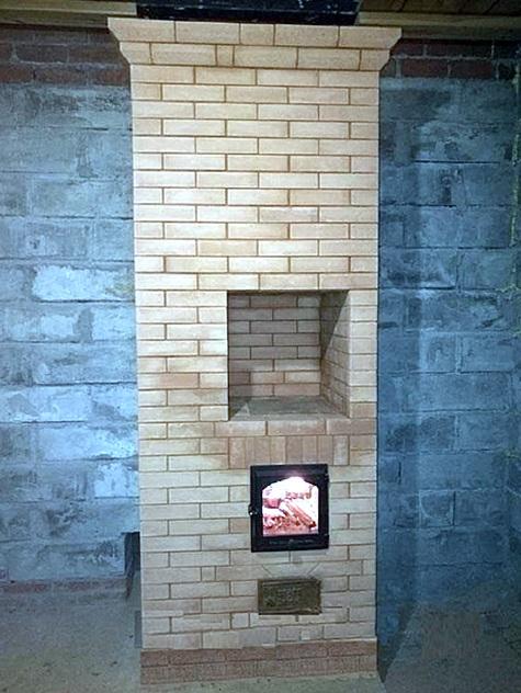 Колпаковая печь для отопления дома