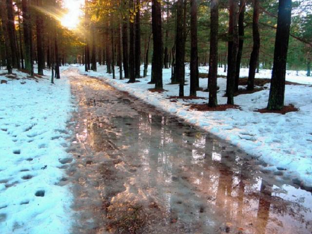 Зимой нередко случается и такое… А расчёт то проводился для минимальных температур!