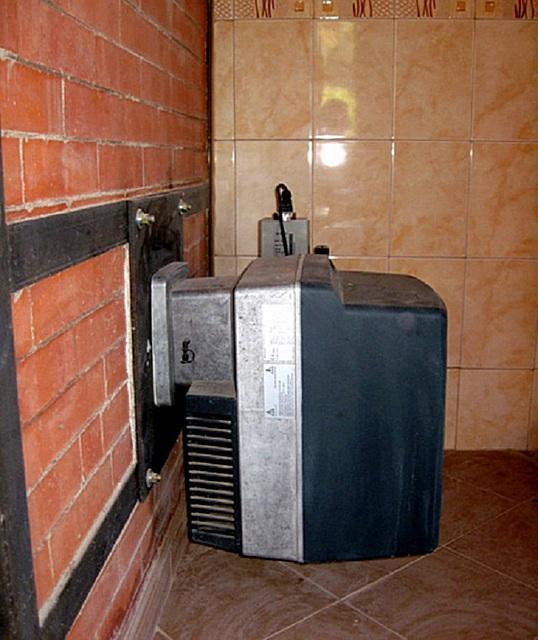 Газовый прибор для обогрева бани.