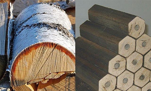 Топливные брикеты или дрова что лучше
