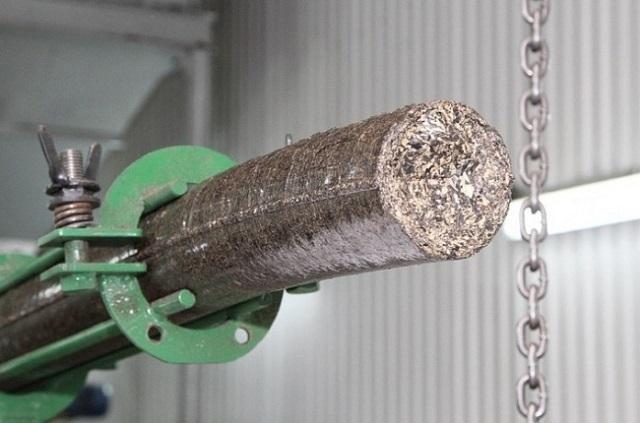Экструзионная линия по изготовлению брикетов из отходов подсолнечника.