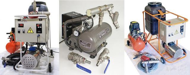 Промывкой систем отопления должны заниматься подготовленные профессиональные бригады, оснащенные специальным оборудованием