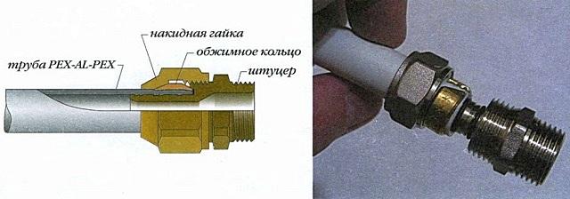 Для такого соединения и вовсе достаточно обычных рожковых ключей. Правда, оно не самое надежное…