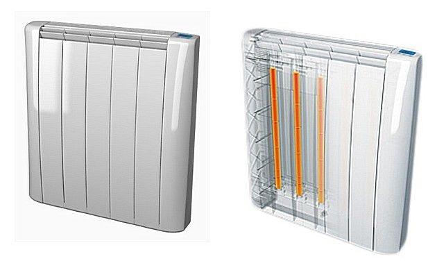 Внешний вид и принцип устройства стержневых модульных обогревателей.