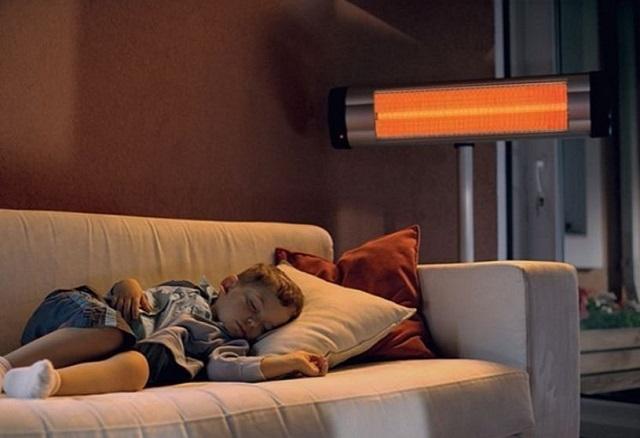 Инфракрасные обогреватели эффективно нагревают поверхности, на которые они направлены