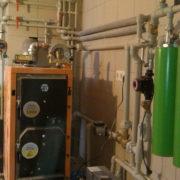 Однофазный индукционный котел отопления для частного дома