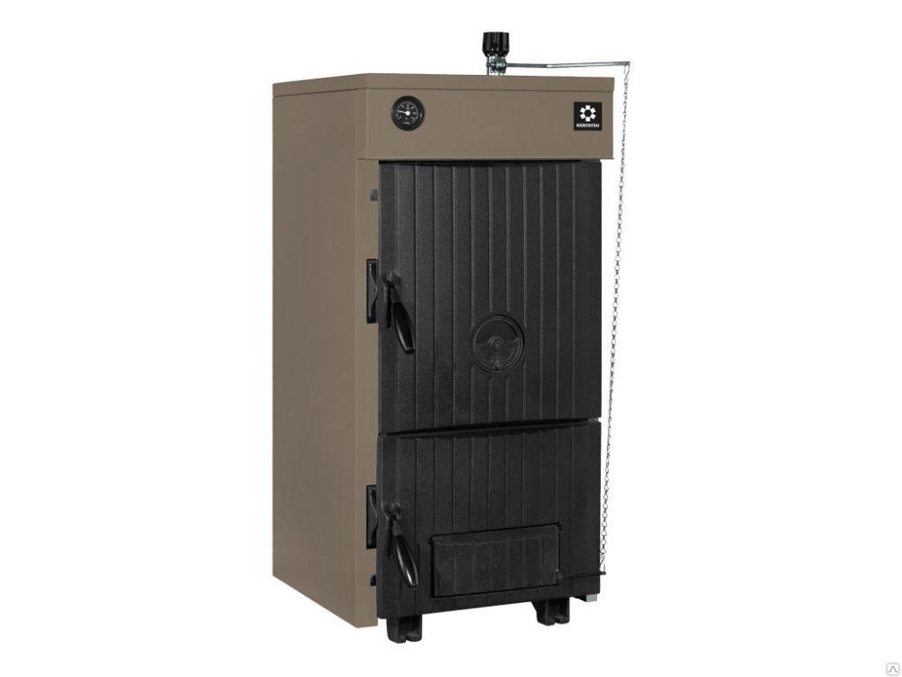 Чугунный твердотопливный котел Kentatsu Elegant-03 17 кВт., цена в ...