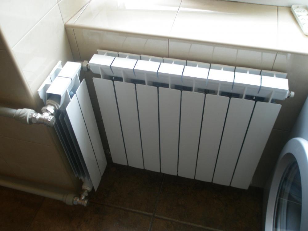алюминиевые радиаторы отопления цена