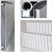 Алюминиевые радиаторы Термал: виды и характеристики приборов, установка своими руками