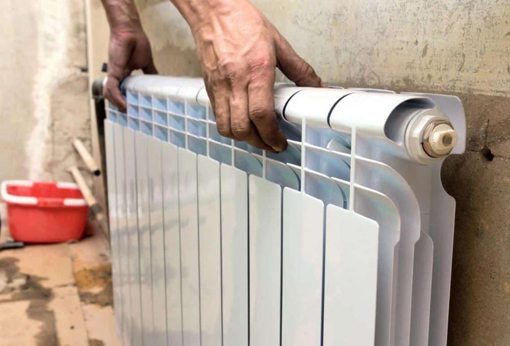 батарея отопления радиаторы биметаллические