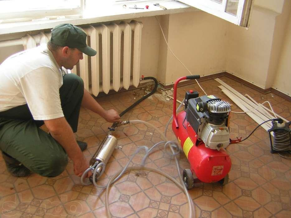 очистка чугунных радиаторов отопления