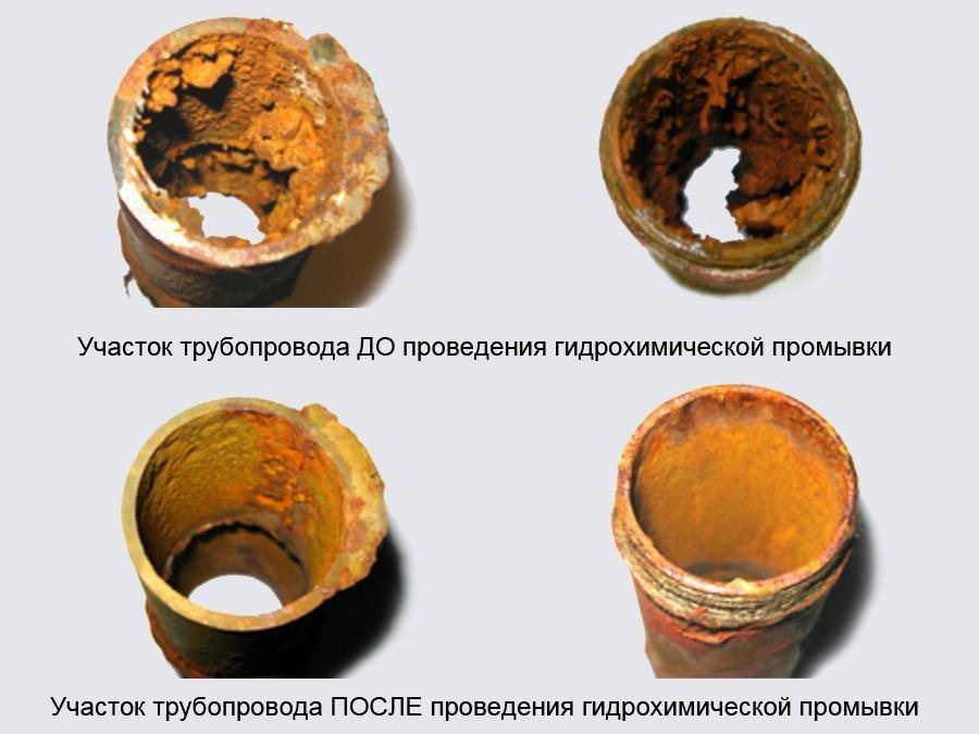 чистка радиаторов отопления чугунных