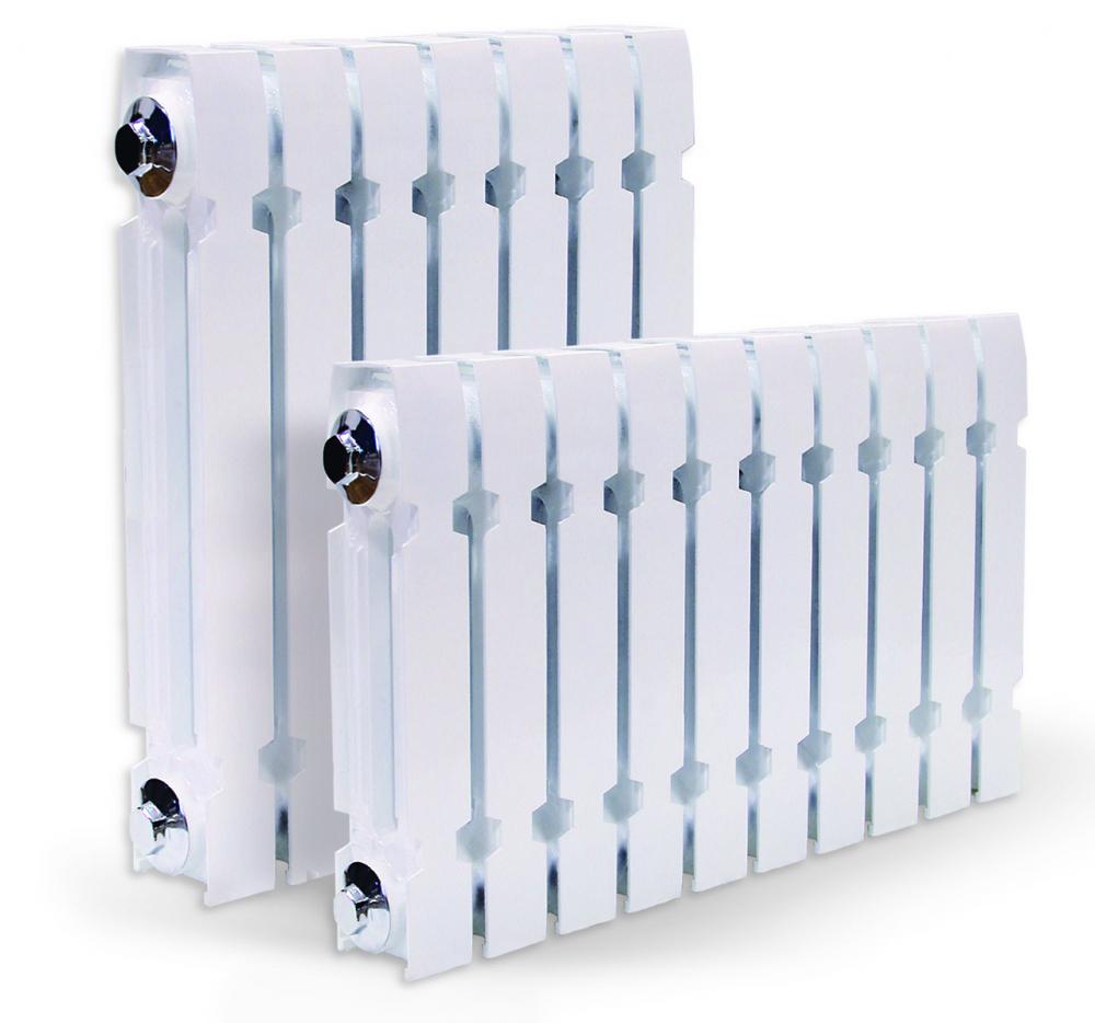 теплоотдача чугунных радиаторов