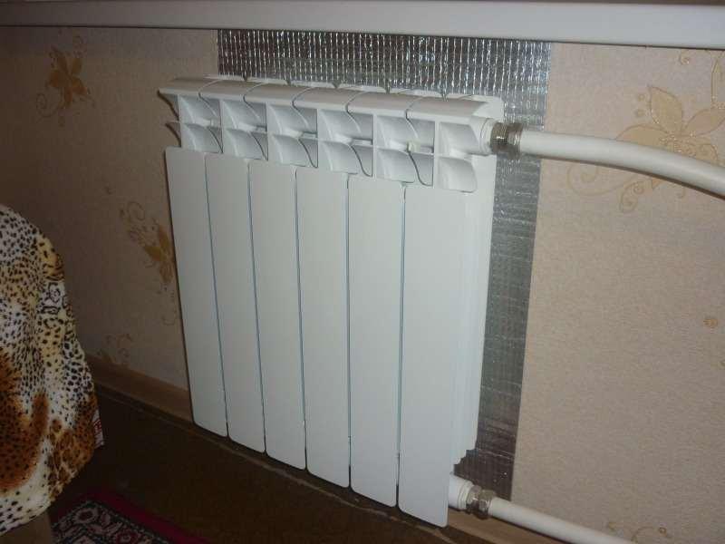 Архив: Отражатель тепла - тепловой экран за радиатор с фольгой и ...