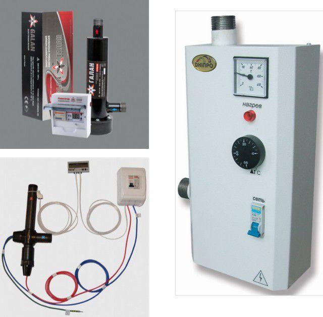 электрический двухконтурный котел для отопления и водоснабжения