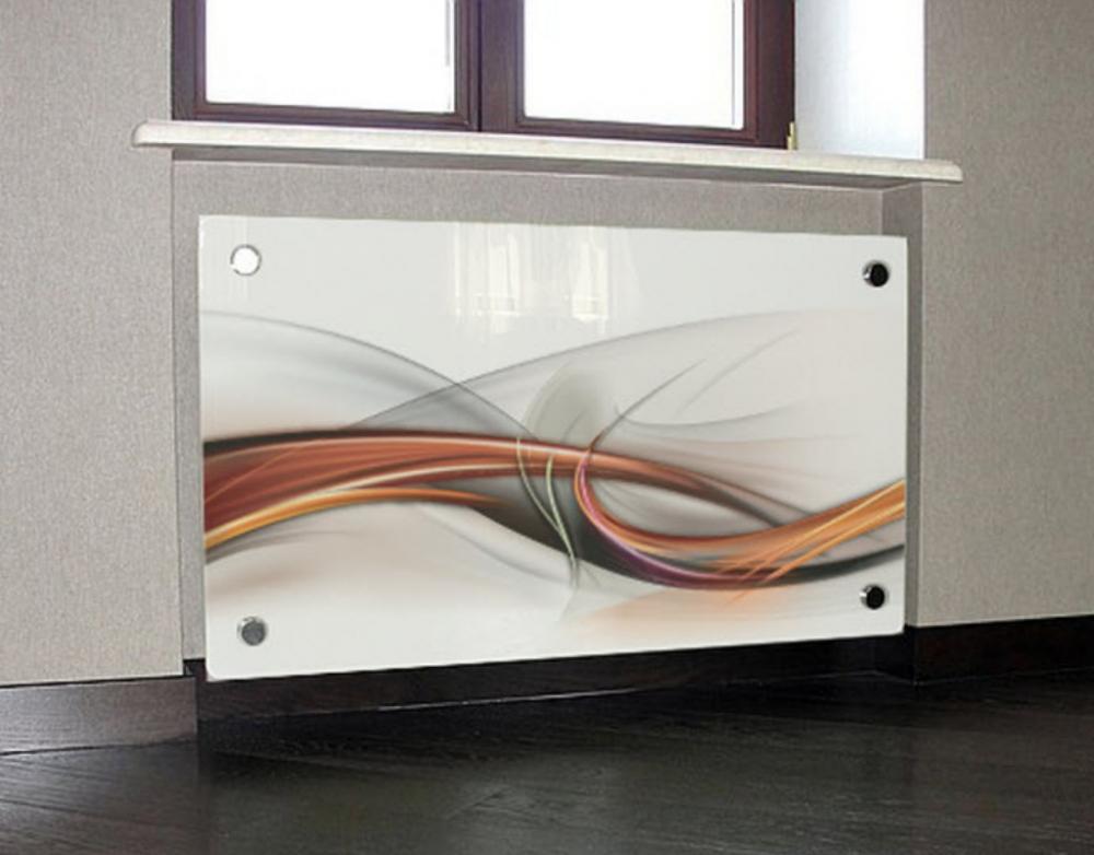 Декоративные экраны на радиаторы отопления — виды и советы по монтажу