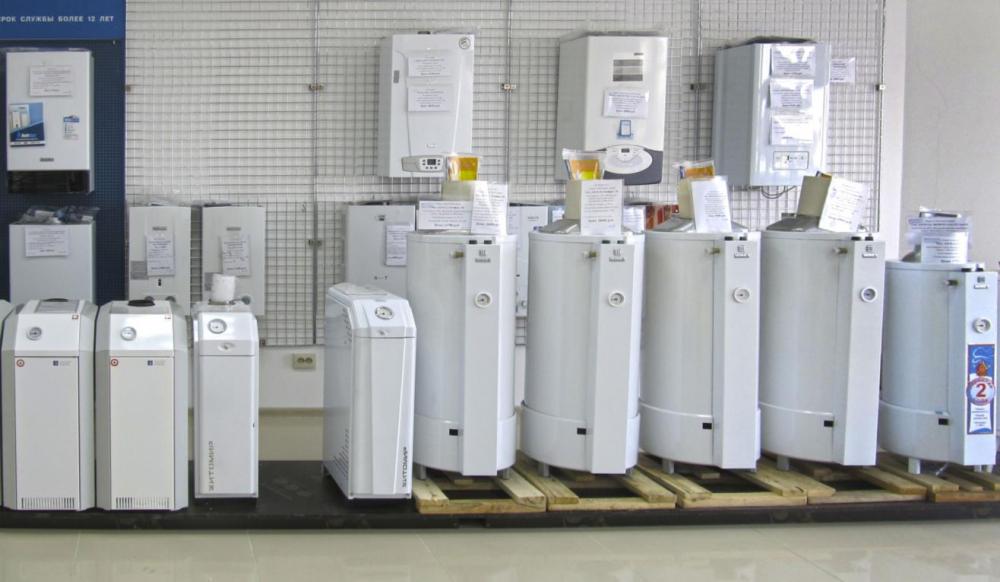 настенный газовый котел для отопления частного дома