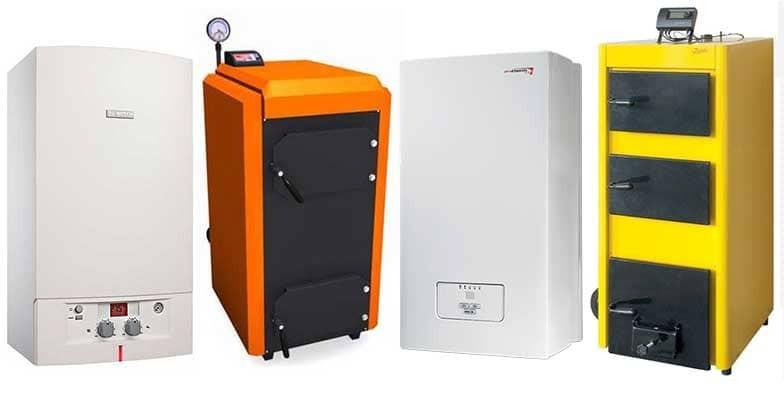 купить комбинированный котел отопления твердое топливо электричество