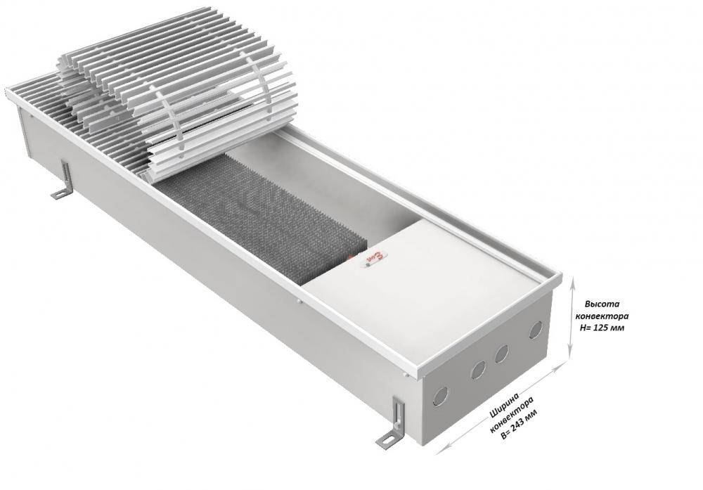 напольные конвекторы отопления eva