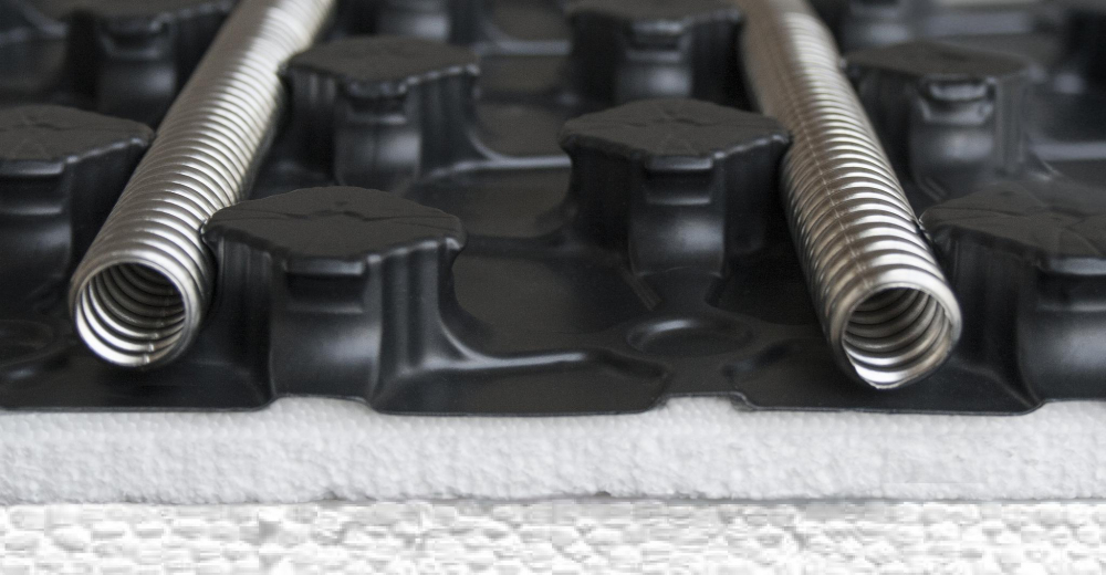 монтаж трубопроводов отопления из стальных труб