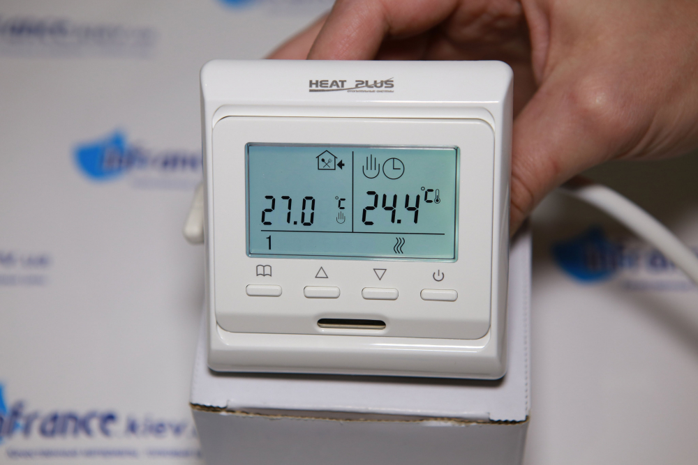 Терморегулятор для теплого пола TOP FLOOR M6.716, обзор и ...