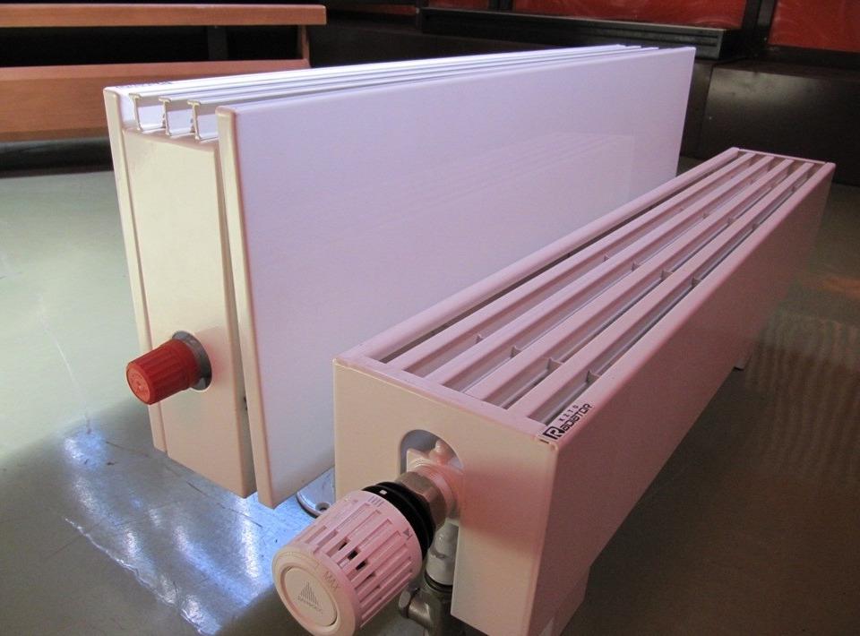Водяные конвекторы отопления – особенности внутрипольных и настенных ...