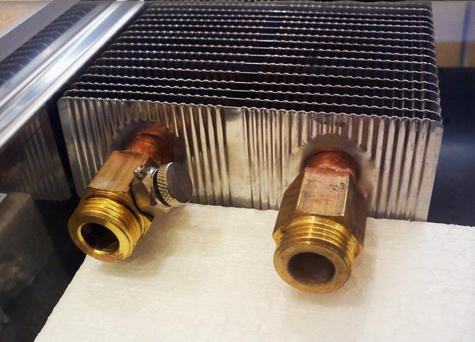 Стальные встраиваемые конвекторы отопления, технические ...