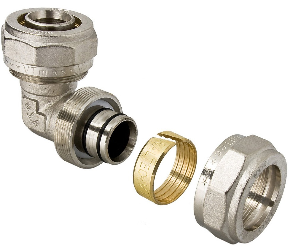 размеры металлопластиковых труб с обжимными фитингами