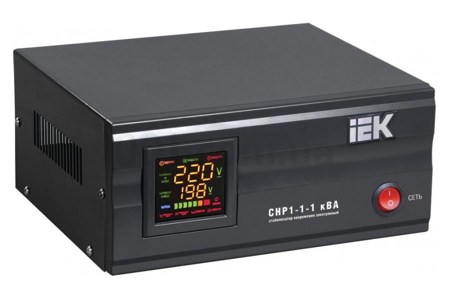 Стабилизатор напряжения СНР1-1-0,5 кВА электронный стационарный IEK ...