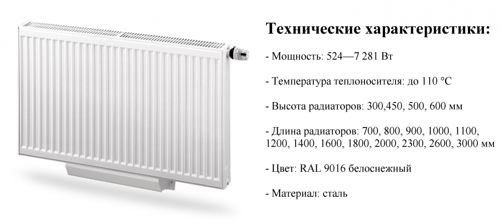 радиатор отопления purmo купить